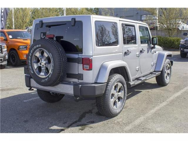 2018 Jeep Wrangler JK Unlimited Sahara (Stk: J863953) in Abbotsford - Image 7 of 25