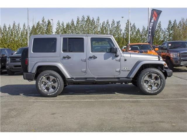 2018 Jeep Wrangler JK Unlimited Sahara (Stk: J863953) in Abbotsford - Image 8 of 25