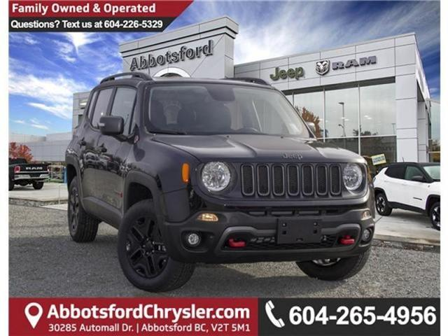 2018 Jeep Renegade Trailhawk (Stk: JH95619) in Abbotsford - Image 1 of 30