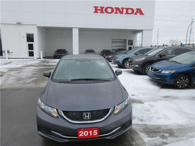 2015 Honda Civic LX (Stk: 26160L) in Ottawa - Image 1 of 7