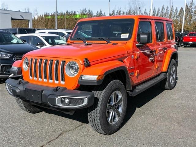 2019 Jeep Wrangler Unlimited Sahara (Stk: K558710) in Abbotsford - Image 3 of 28