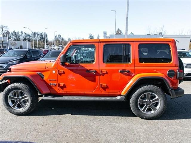 2019 Jeep Wrangler Unlimited Sahara (Stk: K558710) in Abbotsford - Image 4 of 28