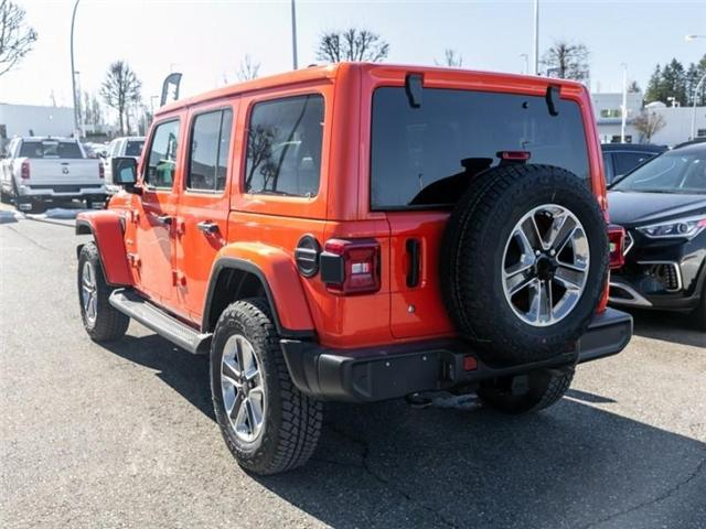 2019 Jeep Wrangler Unlimited Sahara (Stk: K558710) in Abbotsford - Image 5 of 28