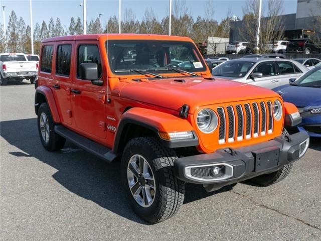 2019 Jeep Wrangler Unlimited Sahara (Stk: K558710) in Abbotsford - Image 9 of 28