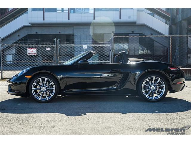 2017 Porsche 718 Boxster Base (Stk: VU0417) in Vancouver - Image 1 of 15
