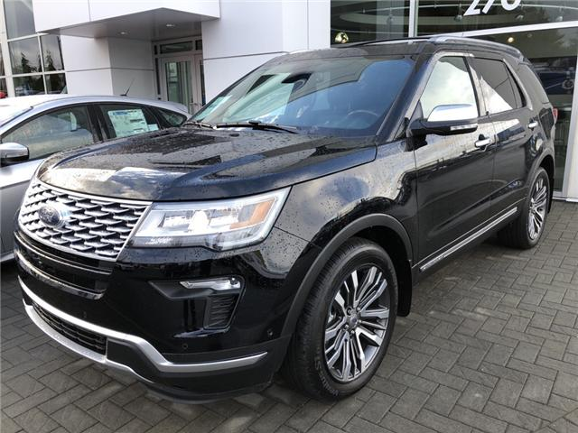 2018 Ford Explorer Platinum (Stk: 186694) in Vancouver - Image 1 of 10
