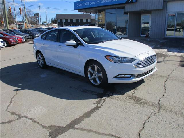 2017 Ford Fusion SE (Stk: 190260) in North Bay - Image 1 of 12