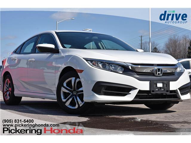 2016 Honda Civic LX (Stk: P4720) in Pickering - Image 1 of 22