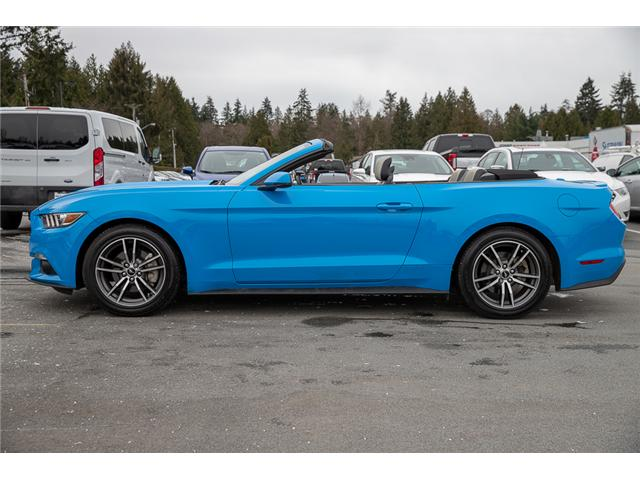 2017 Ford Mustang EcoBoost Premium (Stk: P3878) in Surrey - Image 4 of 28
