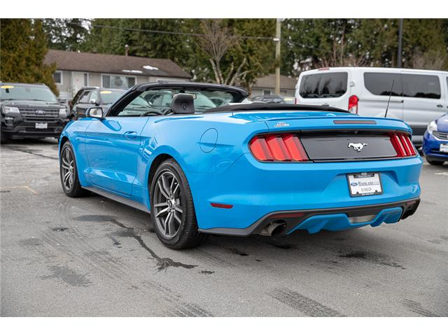 2017 Ford Mustang EcoBoost Premium (Stk: P3878) in Surrey - Image 5 of 28