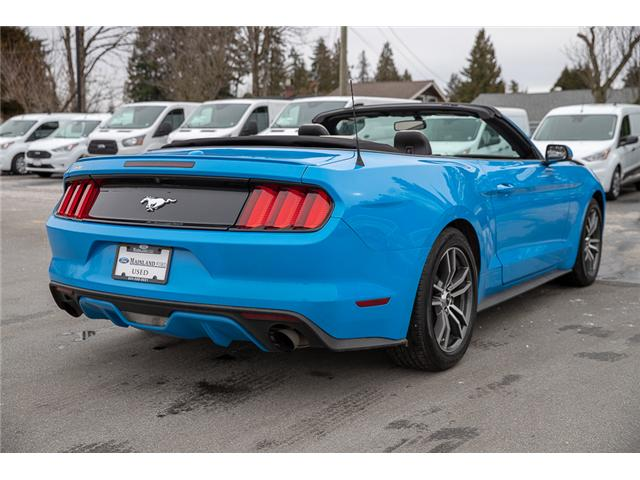 2017 Ford Mustang EcoBoost Premium (Stk: P3878) in Surrey - Image 7 of 28