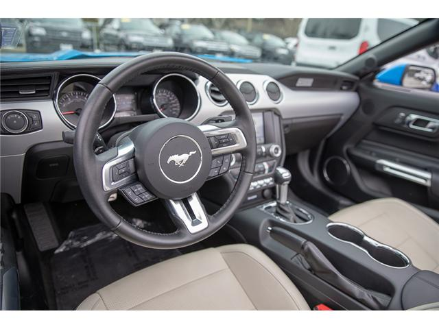 2017 Ford Mustang EcoBoost Premium (Stk: P3878) in Surrey - Image 13 of 28