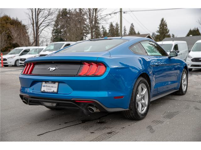 2019 Ford Mustang EcoBoost (Stk: P3199) in Surrey - Image 7 of 29