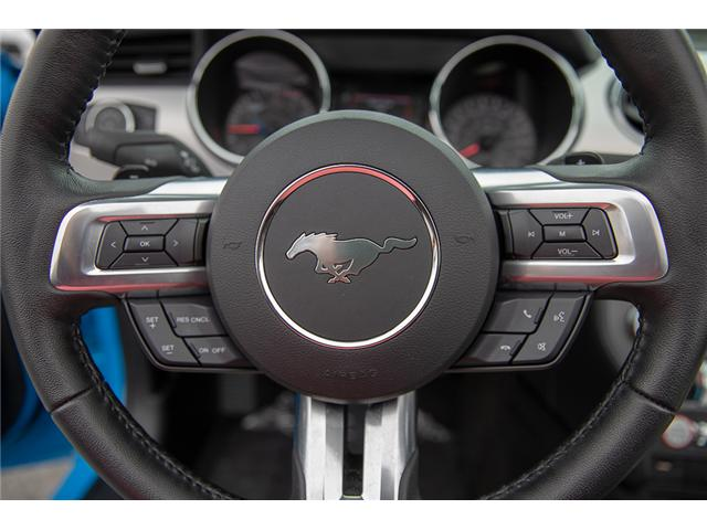 2017 Ford Mustang EcoBoost Premium (Stk: P3878) in Surrey - Image 21 of 28