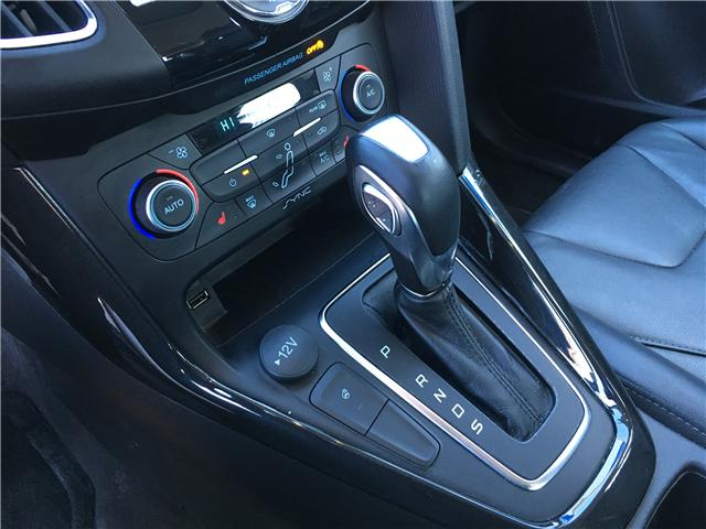 2018 Ford Focus Titanium (Stk: 18-47738RJB) in Barrie - Image 26 of 30