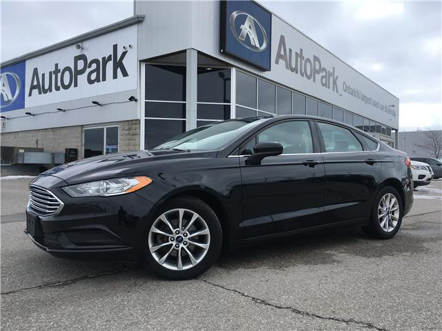 2017 Ford Fusion SE (Stk: 17-18128RJB) in Barrie - Image 1 of 26