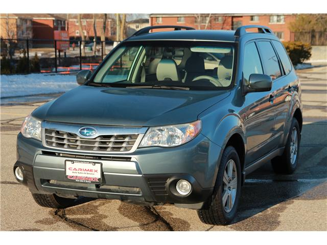 2011 Subaru Forester 2.5 X Convenience Package (Stk: 1902040) in Waterloo - Image 1 of 28