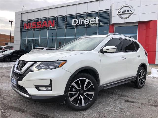 2018 Nissan Rogue SL PLATINUM AWD CVT | DEMO (Stk: N3254) in Mississauga - Image 1 of 20