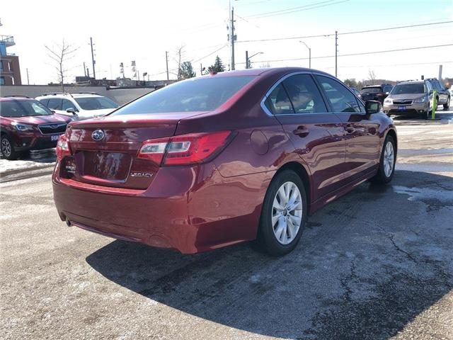 2016 Subaru Legacy 2.5i Touring Package (Stk: LP0232) in RICHMOND HILL - Image 5 of 23
