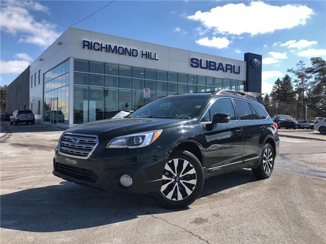 2015 Subaru Outback 2.5i Limited Package (Stk: P03793) in RICHMOND HILL - Image 1 of 24