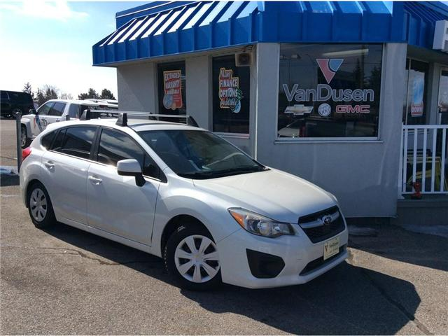 2012 Subaru Impreza 2.0i Touring Pkg (Stk: B7239A) in Ajax - Image 1 of 22