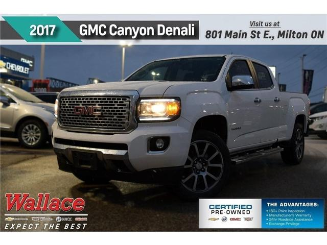 2017 GMC Canyon RARE/DENALI/SUNROOF/DIESEL/HD TRILR PKG/HTD STS (Stk: PL5181) in Milton - Image 1 of 17