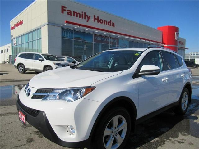 2013 Toyota RAV4 XLE, FREE WINTER TIRES AND RIMS! (Stk: U03406) in Brampton - Image 1 of 29