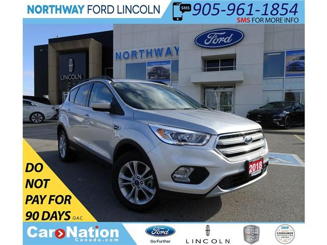 2018 Ford Escape Sel | NAV | HTD PWR LEATHER | PANO ROOF | (Stk: DR88) in Brantford - Image 1 of 30
