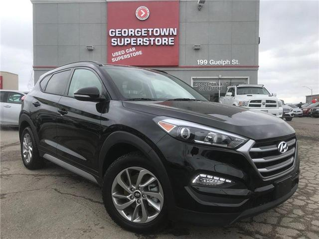 2018 Hyundai Tucson SE 2.0L | PANO ROOF | AWD | LEATHER | BACK UP CAM (Stk: DR512) in Georgetown - Image 2 of 27