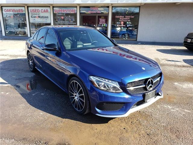 2017 Mercedes-Benz C43 AMG NAVI   PANO   360 CAM   AMG INT   NO ACCIDENT (Stk: P11904) in Oakville - Image 2 of 23