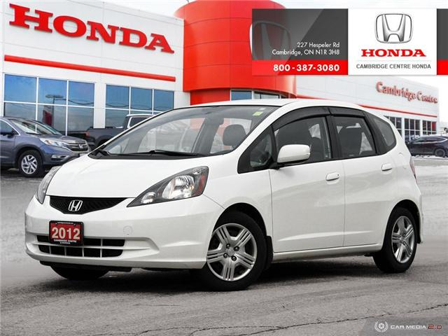 2012 Honda Fit LX (Stk: 19175C) in Cambridge - Image 1 of 27