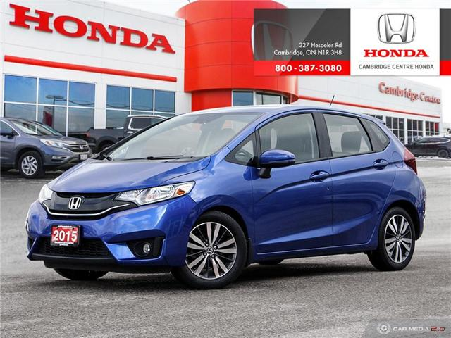 2015 Honda Fit EX (Stk: 19552A) in Cambridge - Image 1 of 27