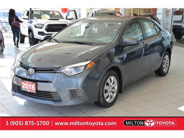 2016 Toyota Corolla  (Stk: 655214) in Milton - Image 1 of 37