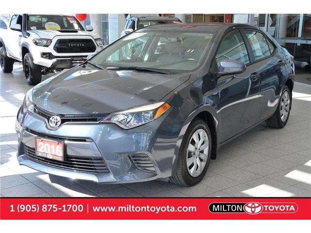 2016 Toyota Corolla  (Stk: 634775) in Milton - Image 1 of 35