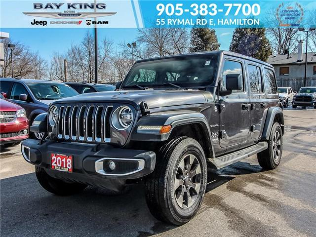 2018 Jeep Wrangler Unlimited Unlimited Sahara (Stk: 197566A) in Hamilton - Image 1 of 27