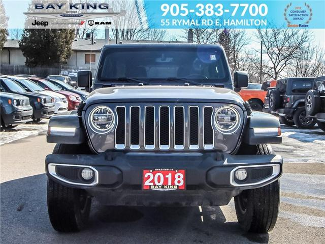 2018 Jeep Wrangler Unlimited Unlimited Sahara (Stk: 197566A) in Hamilton - Image 2 of 27