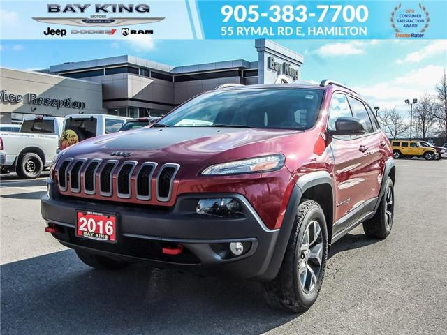 2016 Jeep Cherokee Trailhawk (Stk: 197079A) in Hamilton - Image 1 of 23