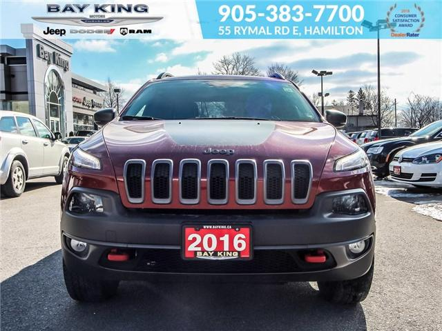 2016 Jeep Cherokee Trailhawk (Stk: 197079A) in Hamilton - Image 2 of 23