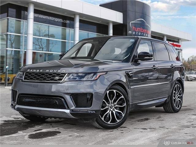 2018 Land Rover Range Rover Sport Supercharged Dynamic (Stk: 19MSX057) in Mississauga - Image 1 of 27
