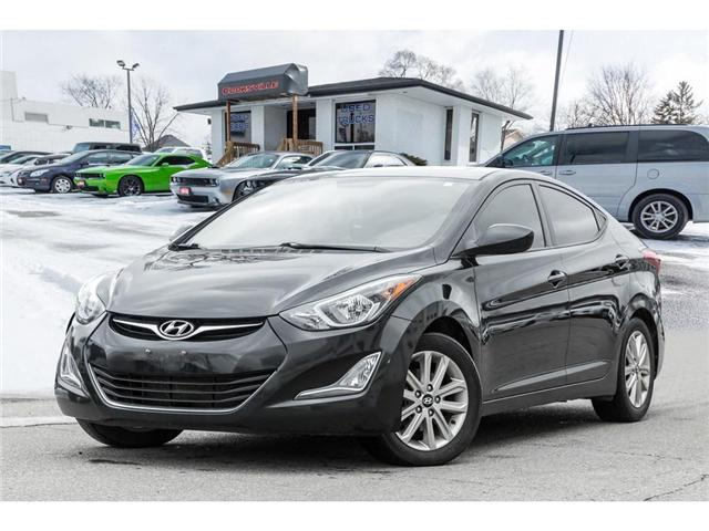2016 Hyundai Elantra Sport Appearance (Stk: H905150T) in Mississauga - Image 1 of 19