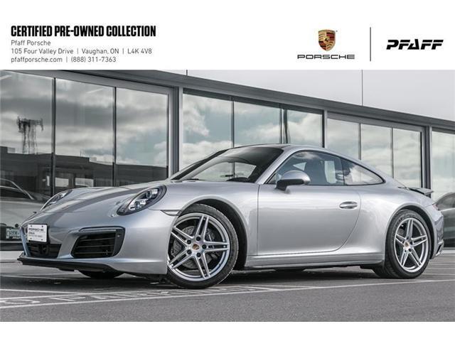 2018 Porsche 911 Carrera 4 Coupe PDK (Stk: U7765) in Vaughan - Image 1 of 22