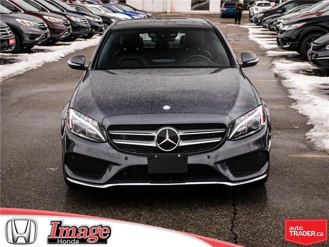 2015 Mercedes-Benz C-Class Base (Stk: OE4264A) in Hamilton - Image 2 of 18