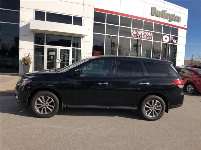 2015 Nissan Pathfinder SV (Stk: U10402) in Burlington - Image 2 of 17