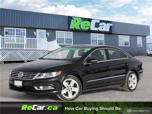 2013 Volkswagen CC Sportline (Stk: 181388A) in Saint John - Image 1 of 25