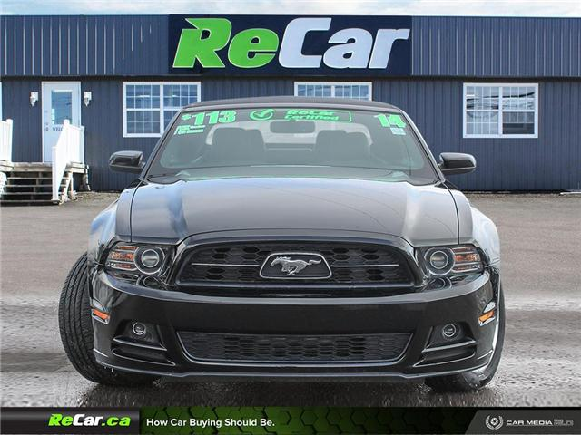 2014 Ford Mustang V6 Premium (Stk: 190163A) in Fredericton - Image 2 of 24