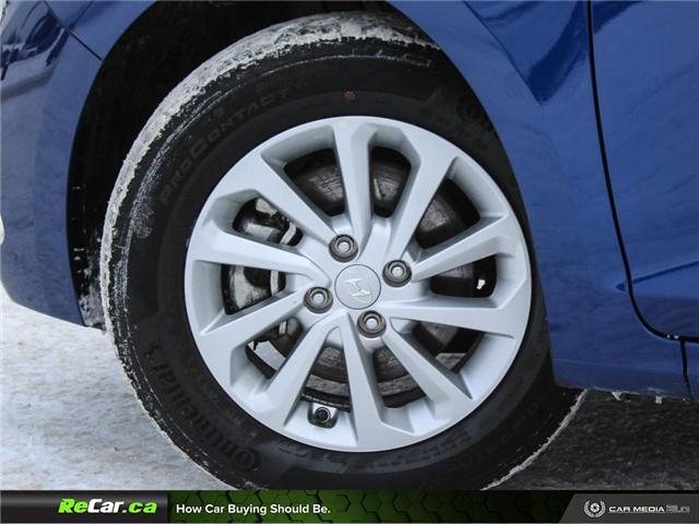 2018 Hyundai Accent GL (Stk: 190110A) in Saint John - Image 6 of 25