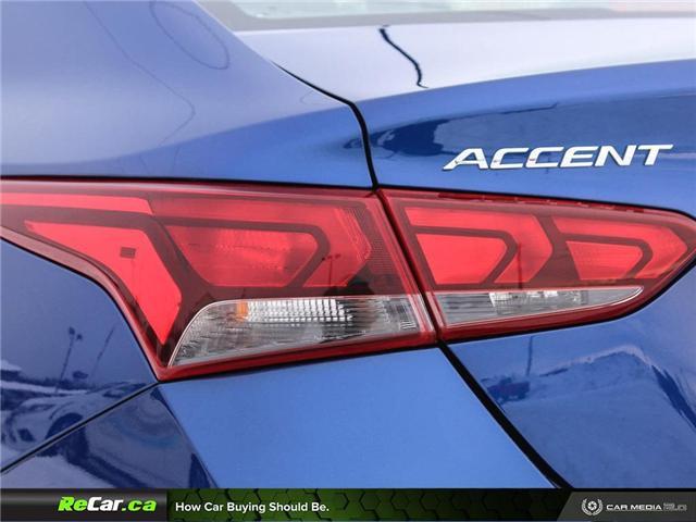 2018 Hyundai Accent GL (Stk: 190110A) in Saint John - Image 9 of 25