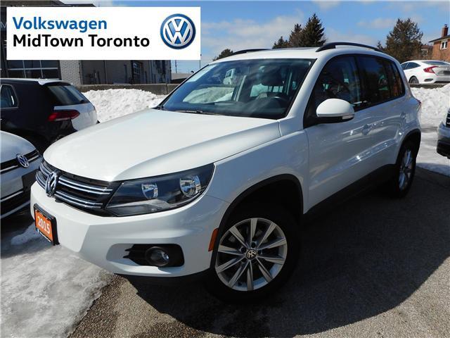 2015 Volkswagen Tiguan Comfortline (Stk: P7195) in Toronto - Image 1 of 30