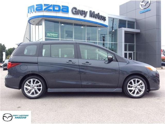 2017 Mazda Mazda5 GT (Stk: 17124R) in Owen Sound - Image 1 of 6