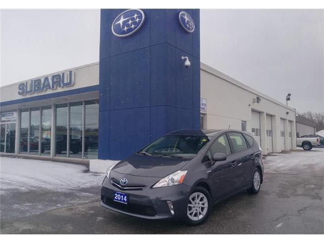 2014 Toyota Prius v Base (Stk: DS5243A) in Orillia - Image 1 of 20